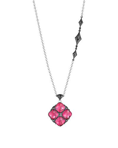 TACORI City Light 18K & Silver 13.60 ct. tw. Quartz Doublet Necklace