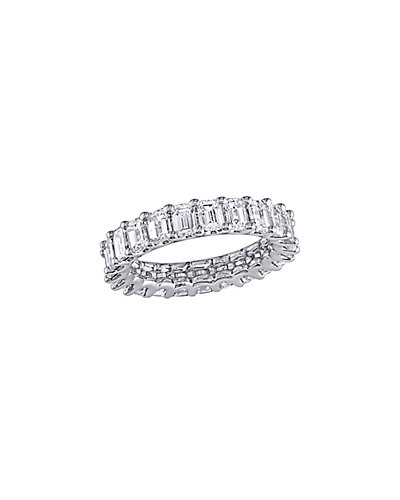 Certified 18K 3.75 ct. tw. Diamond Eternity Ring