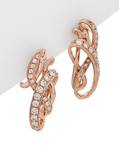 Le Vian 14K Rose Gold 0.34 ct. tw. Diamond Earrings