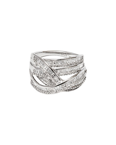 Jewels by Lori Kassin 14K 1.19 ct. tw. Diamond Swirl Ring