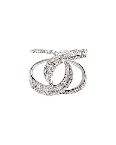 Jewels by Lori Kassin 14K 0.55 ct. tw. Diamond Spiral Ring