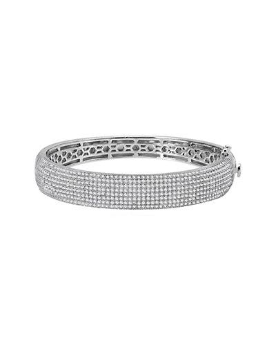 Lafonn Platinum over Silver Simulated Diamond Bracelet