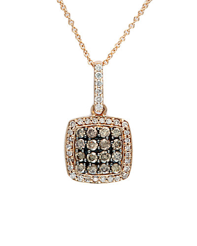 Effy Fine Jewelry 14K Rose Gold 0.58 ct. tw. Diamond Necklace