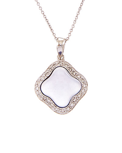 Effy Fine Jewelry 14K 5.87 ct. tw. Diamond & Quartz Chalcedony Necklace