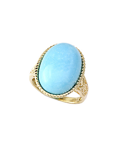 Effy Fine Jewelry 14K 13.25 ct. tw. Turquoise Ring