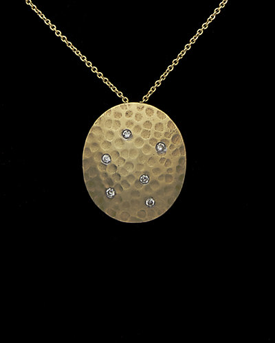 Meira T 14K Diamond Necklace