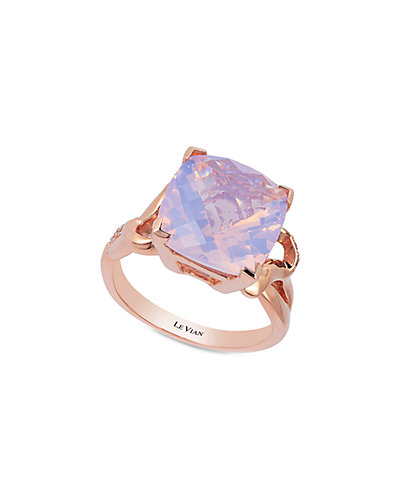 Le Vian 14K Rose Gold 5.99 ct. tw. Diamond & Quartz Ring