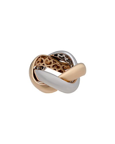 Poiray 18K Two-Tone Gold Ring