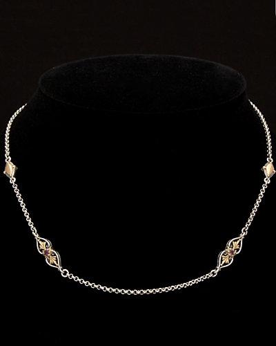 Konstantino Artemis 18K & Silver 0.60 ct. tw. Rhodolite Toggle Necklace