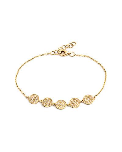 Jewels by Lori Kassin 14K 1.50 ct. tw. Diamond Bracelet