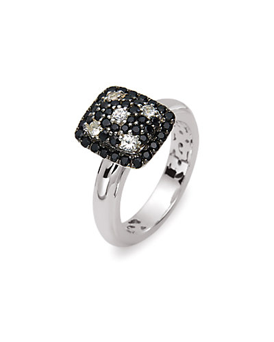 Charles Krypell Twilight Collection Silver Gemstone Ring