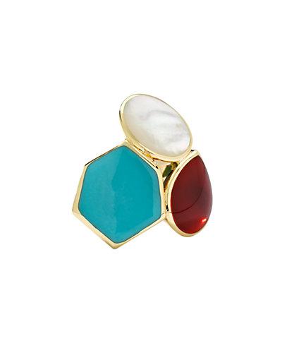 "IPPOLITA ""Polished Rock Candy Gelato"" 18K 24.00 ct. tw. Gemstone Cluster Ring"