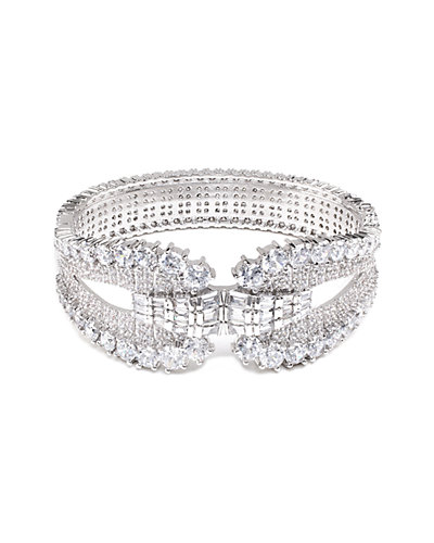 CZ by Kenneth Jay Lane Plated Bracelet
