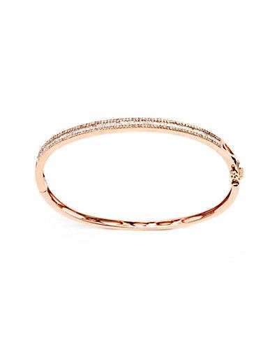 Jewels by Lori Kassin 14K Rose Gold 0.83 ct. tw. Diamond Bracelet