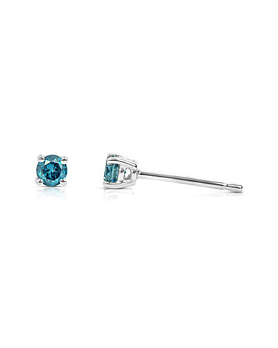 Suzy Levian 14K 0.15 ct. tw. Diamond Studs