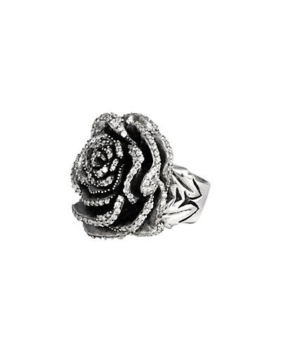 King Baby Studio Sterling Silver Rose Ring