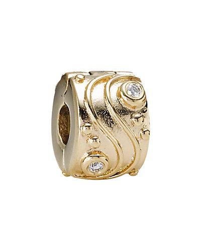 PANDORA Babbling Brook 14K Diamond Clip Charm