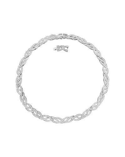 Swarovski® Crystal Curled Necklace
