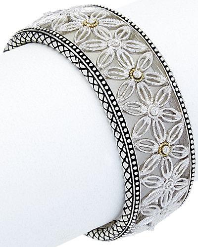 Andrea Candela Tesoro 18K & Silver Diamond Cuff