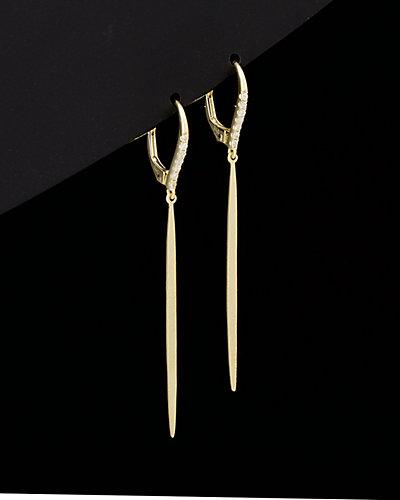Meira T 14K 0.10 ct. tw. Diamond Drop Earrings