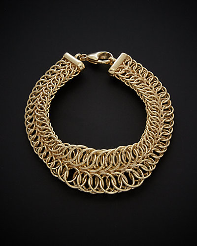 14K Italian Gold Link Bracelet