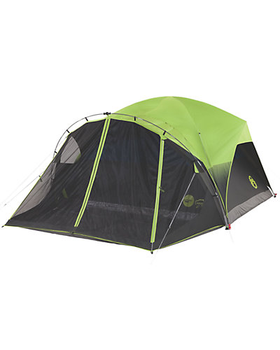 Coleman Fastpitch 6-Person Tent with Darkroom