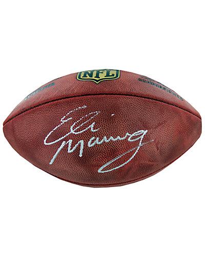 Signed Eli Manning NFL Duke Football