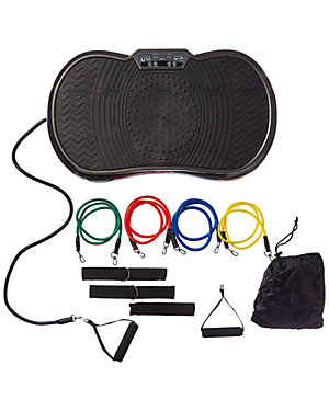 Rock Solid Portable Whole Body Vibration Machine & Resistance Bands as seen on All Access Access Hollywood deals